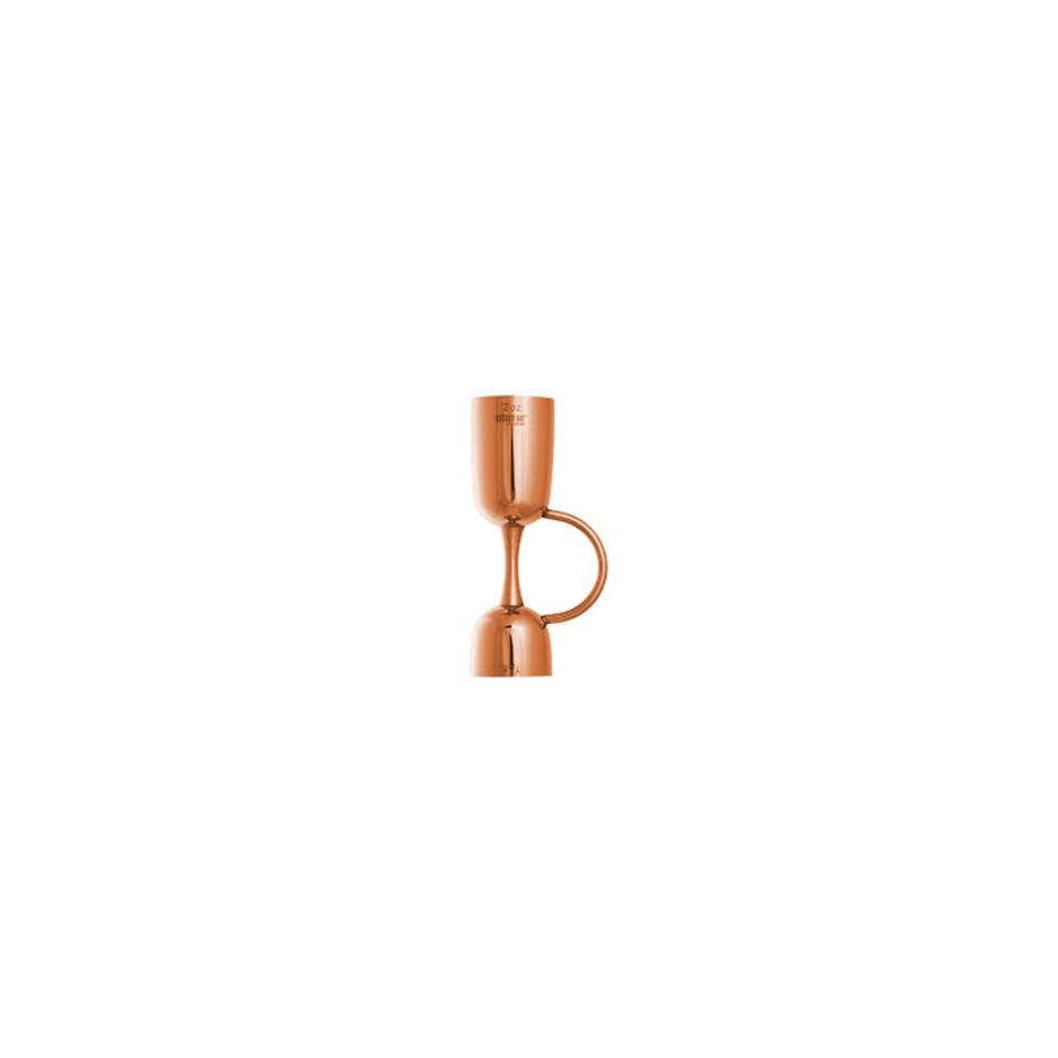 Jigger Coley Urban Bar in acciaio inox ramato oz 1/2-3/4-1-1,5-2