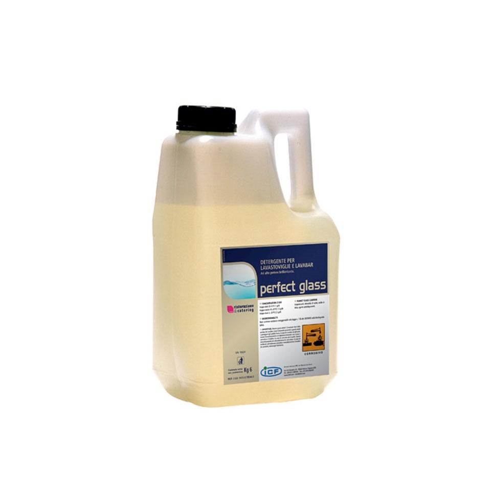 Detergente per lavastoviglie e lavabar Perfect Glass kg 6