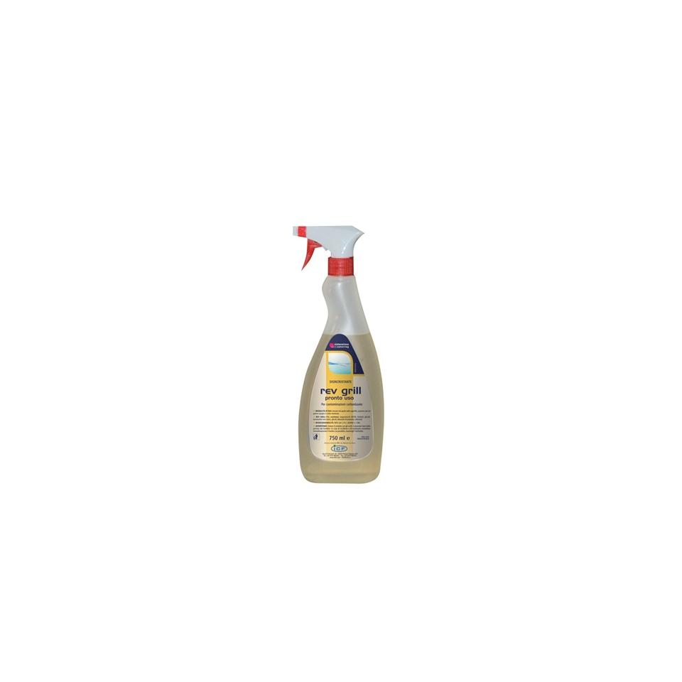 Detergente specifico per griglie e piastre Rev Grill