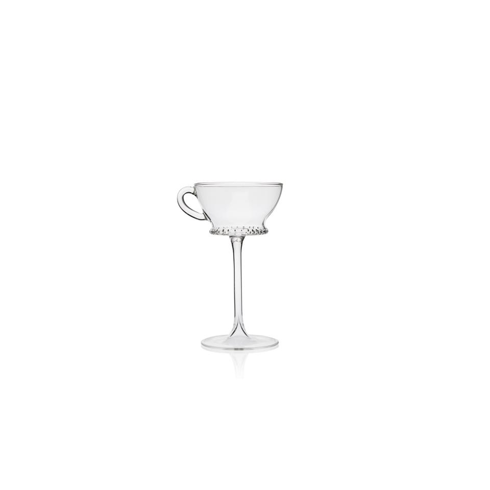 Calice Tea Cup Retro Tail 100% Chef in vetro cl 17