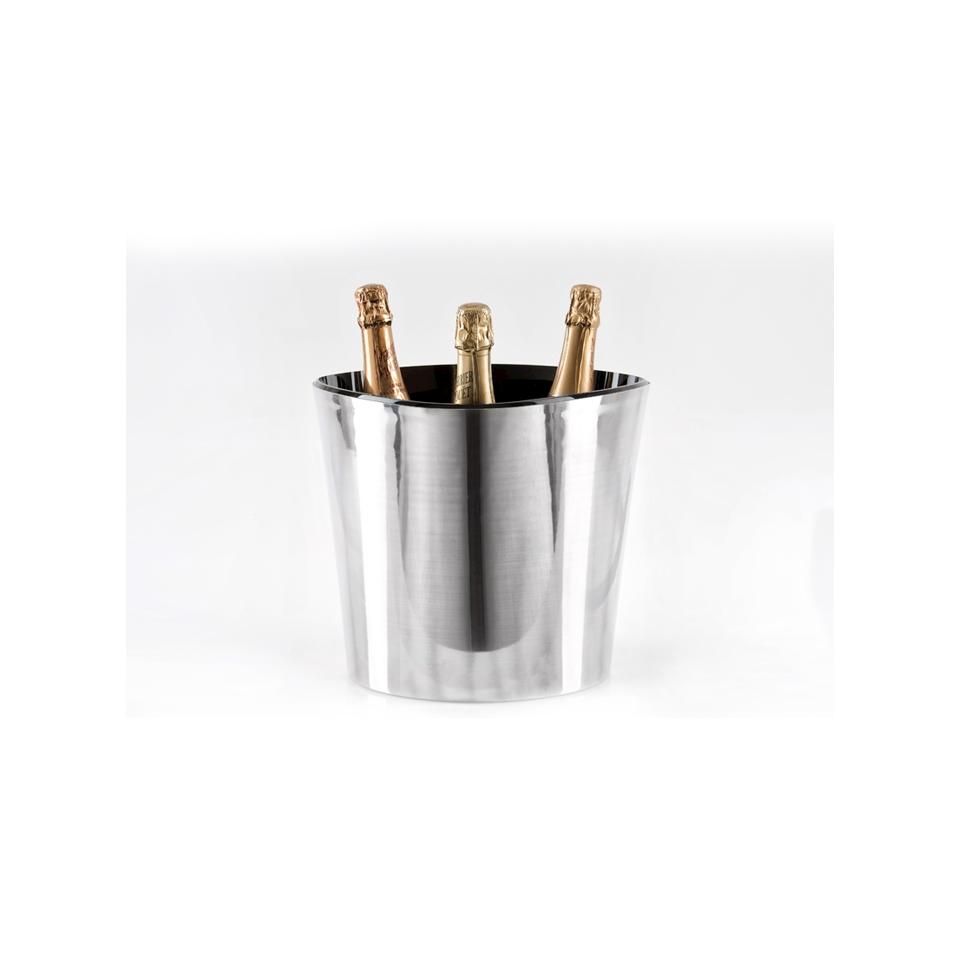 Spumantiera termica Alien in alluminio e plastica bianca cm 32x29