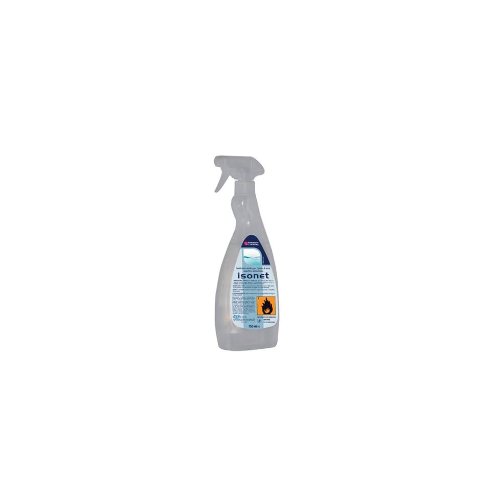 Detergente sanificante alcolico Isonet