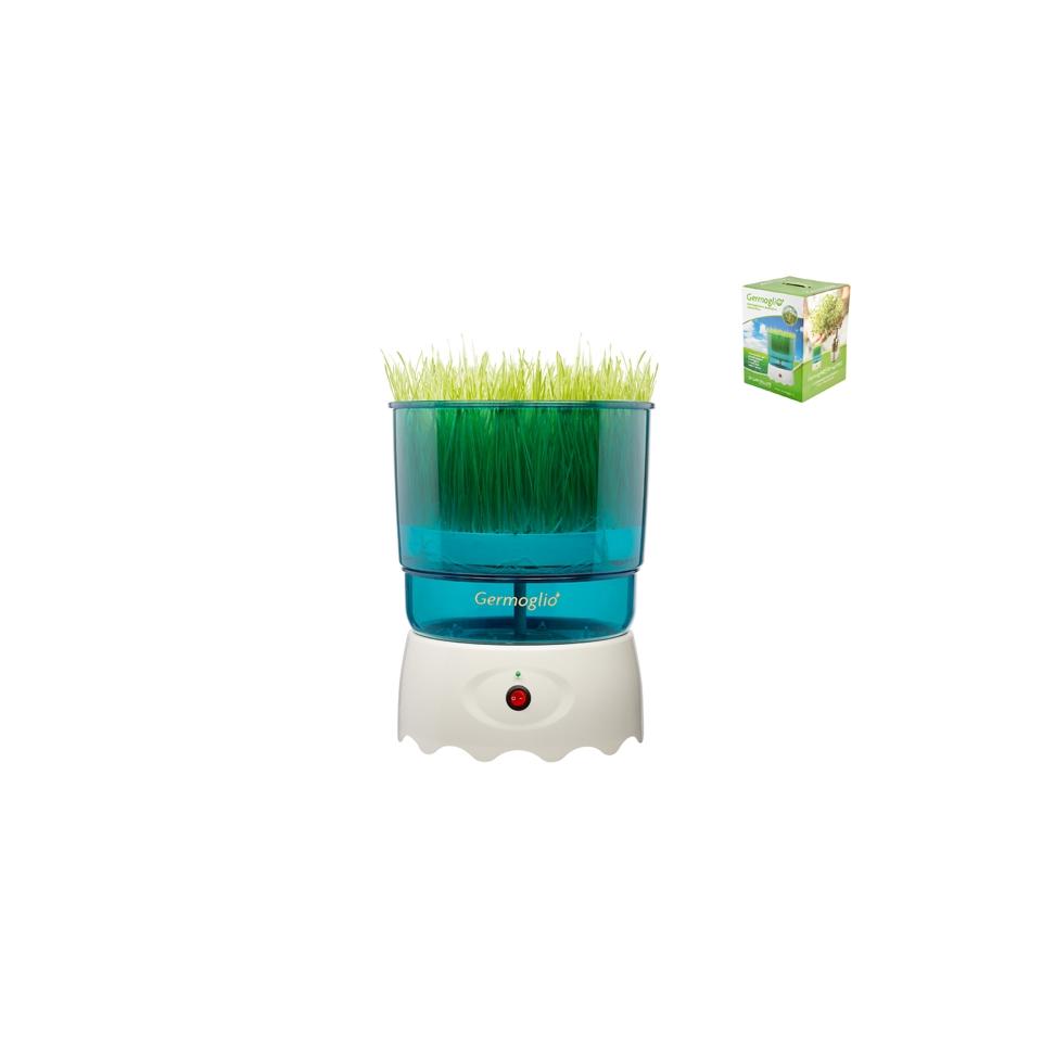Germogliatore Germoglio in plastica bianca e verde