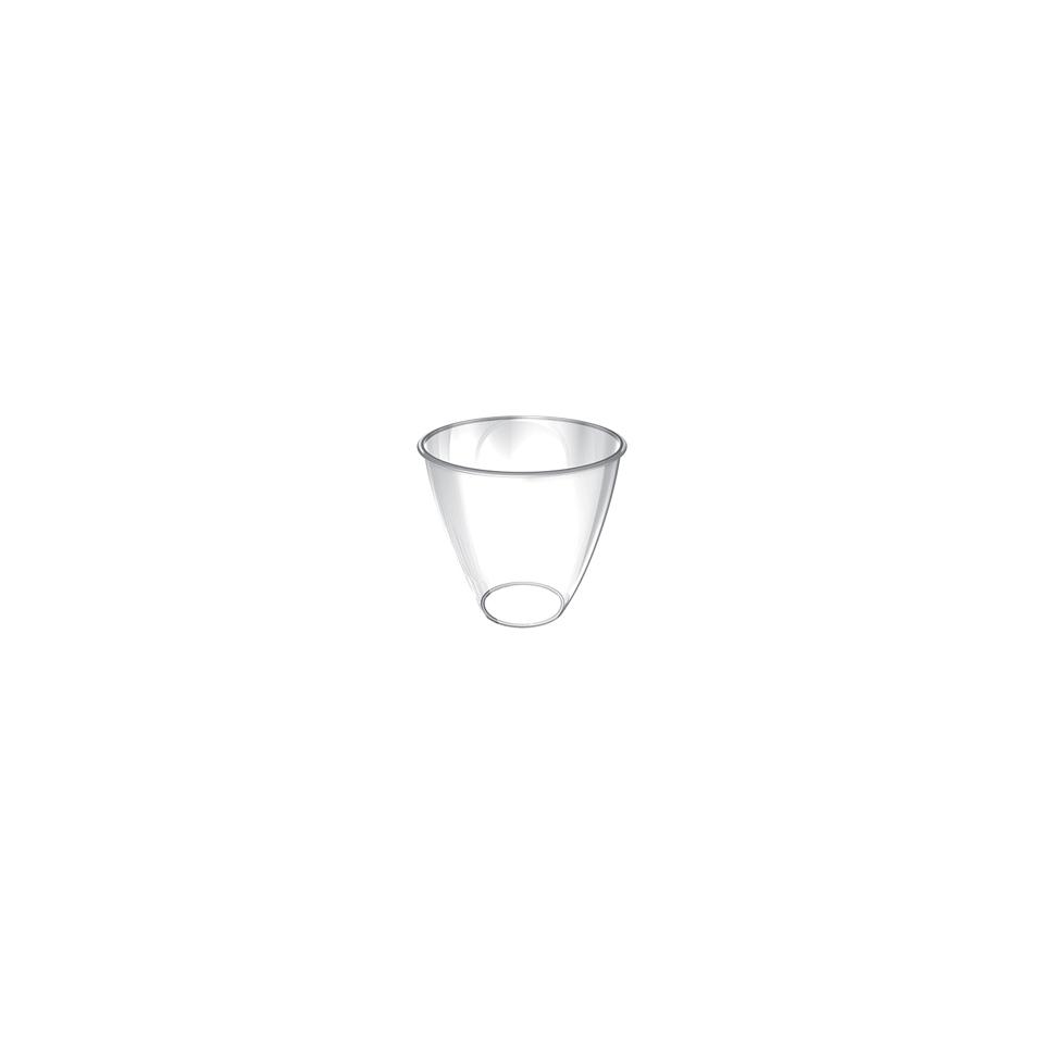 Coppetta Joker monouso in plastica trasparente cl 7,5