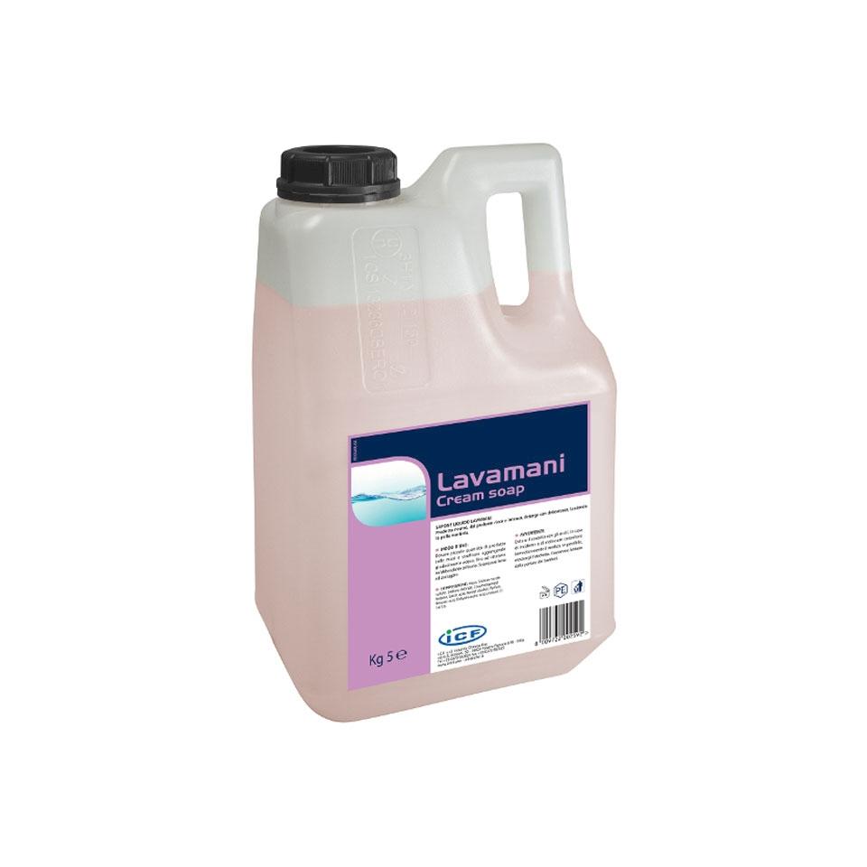 Sapone liquido lavamani Cream Soap kg 5