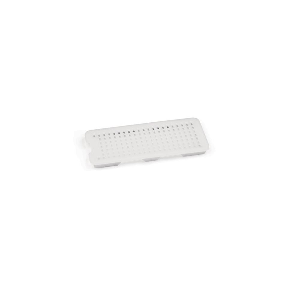 Griglia 1/2 Araven in polietilene bianco cm 20x26x20,5