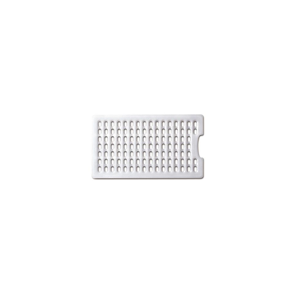 Griglia Araven in polietilene bianco cm 37x10x21,5