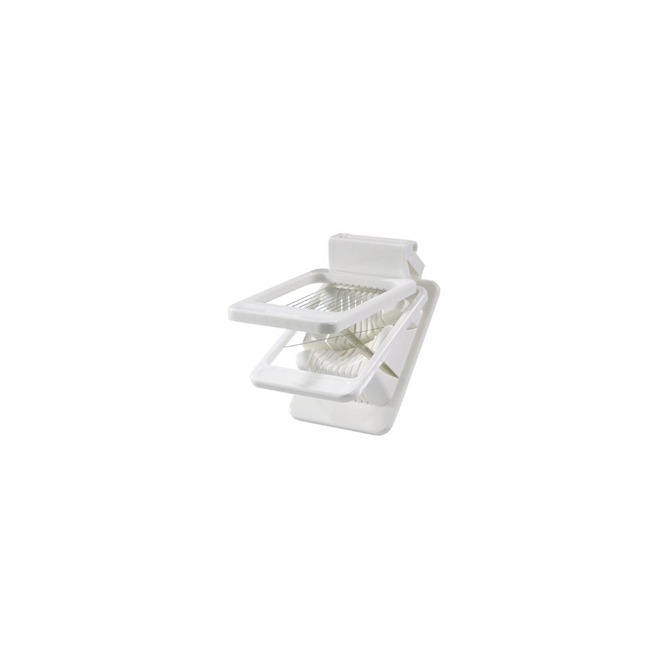 Tagliauovo combinato Westmark in plastica bianca