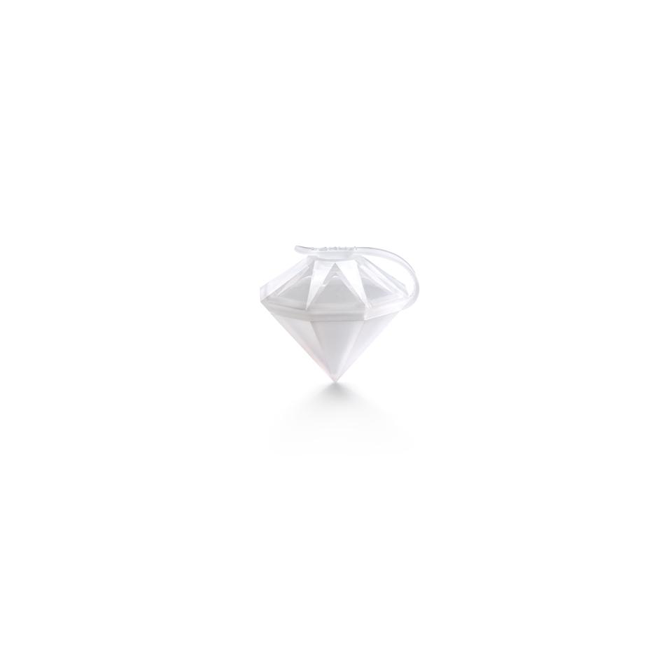 Stampo ghiaccio diamante in silicone cm 6,4