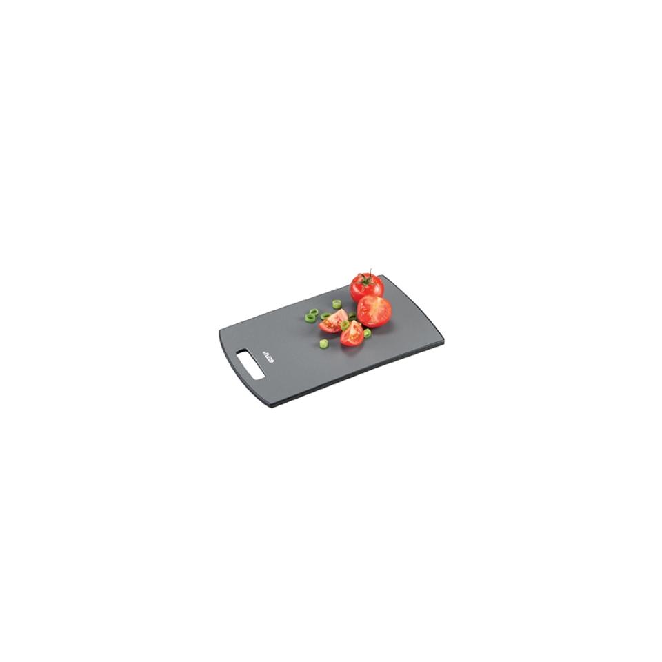 Tagliere antibatterico in PE e PP nero cm 24x15