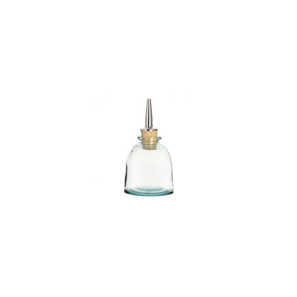 Bottiglia angostura a mandorla Madrid con tappo in vetro cl 15