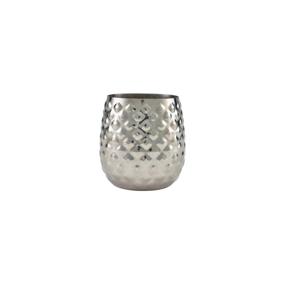 Bicchiere Pineapple in acciaio inox cl 44