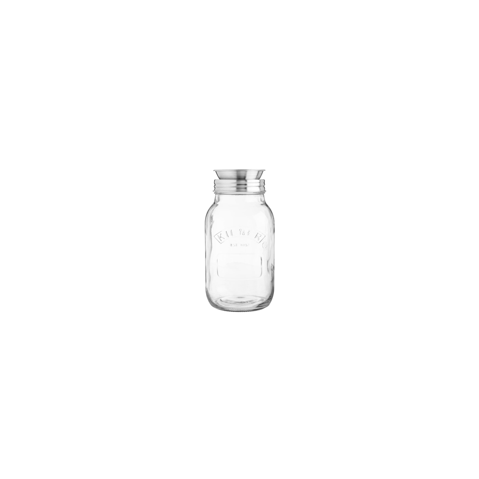 Barattolo Club con spirale Kilner in vetro lt 1