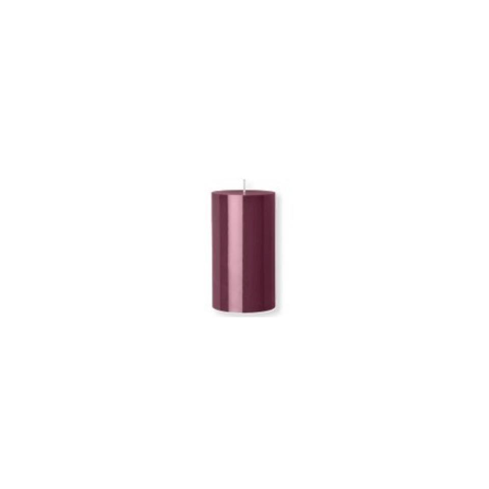 Candela Pillar Duni viola cm 12x7