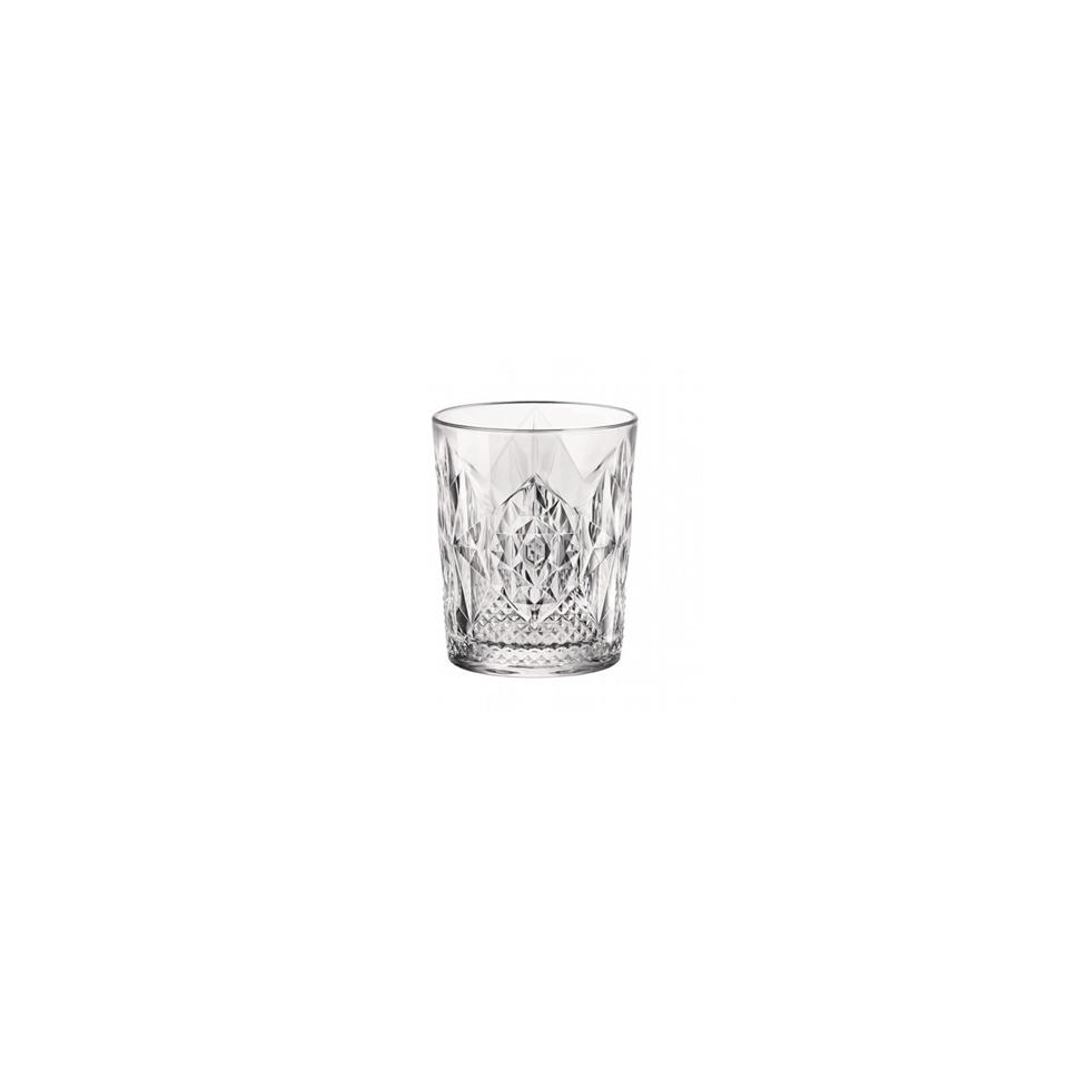 Bicchiere Stone in vetro lavorato