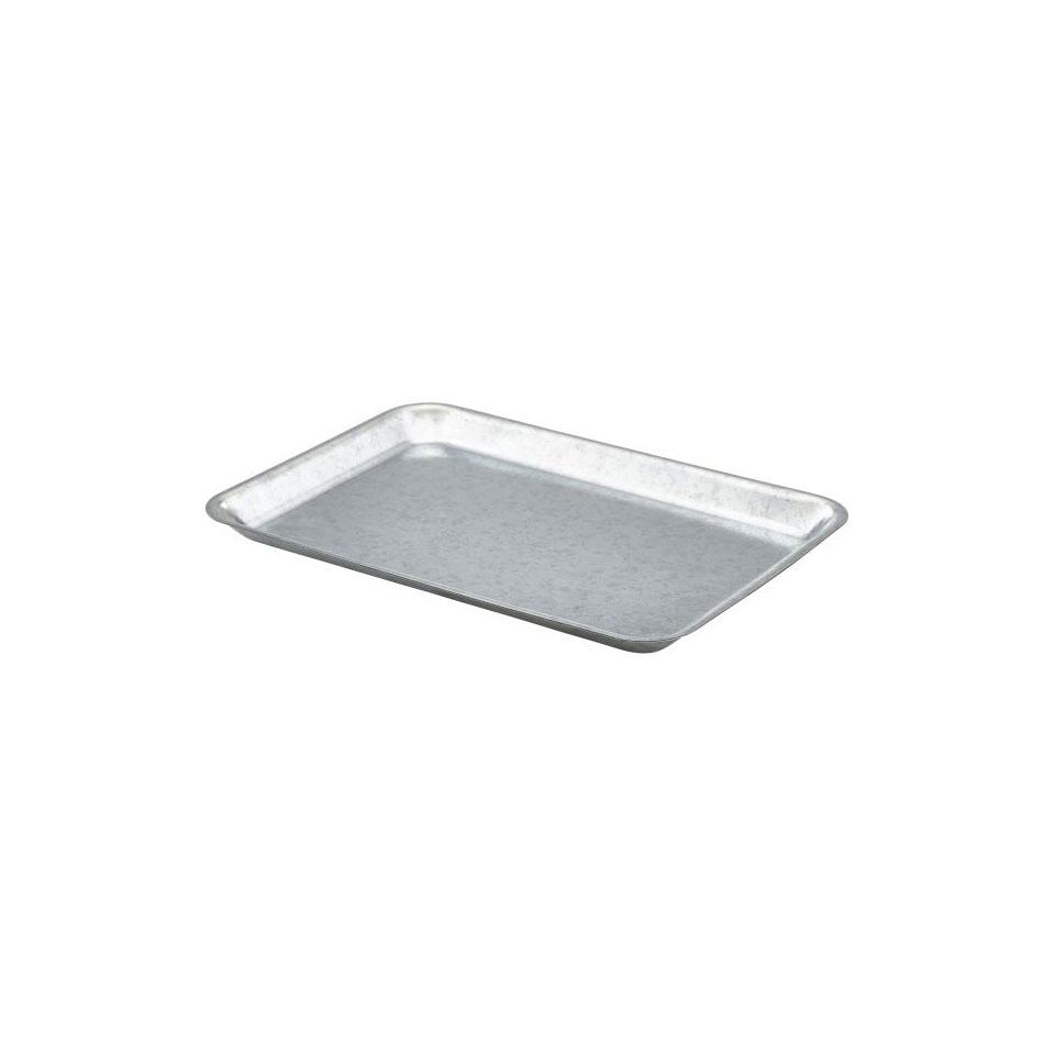 Vassoio rettangolare in acciaio galvanizzato cm 31,5x21,5