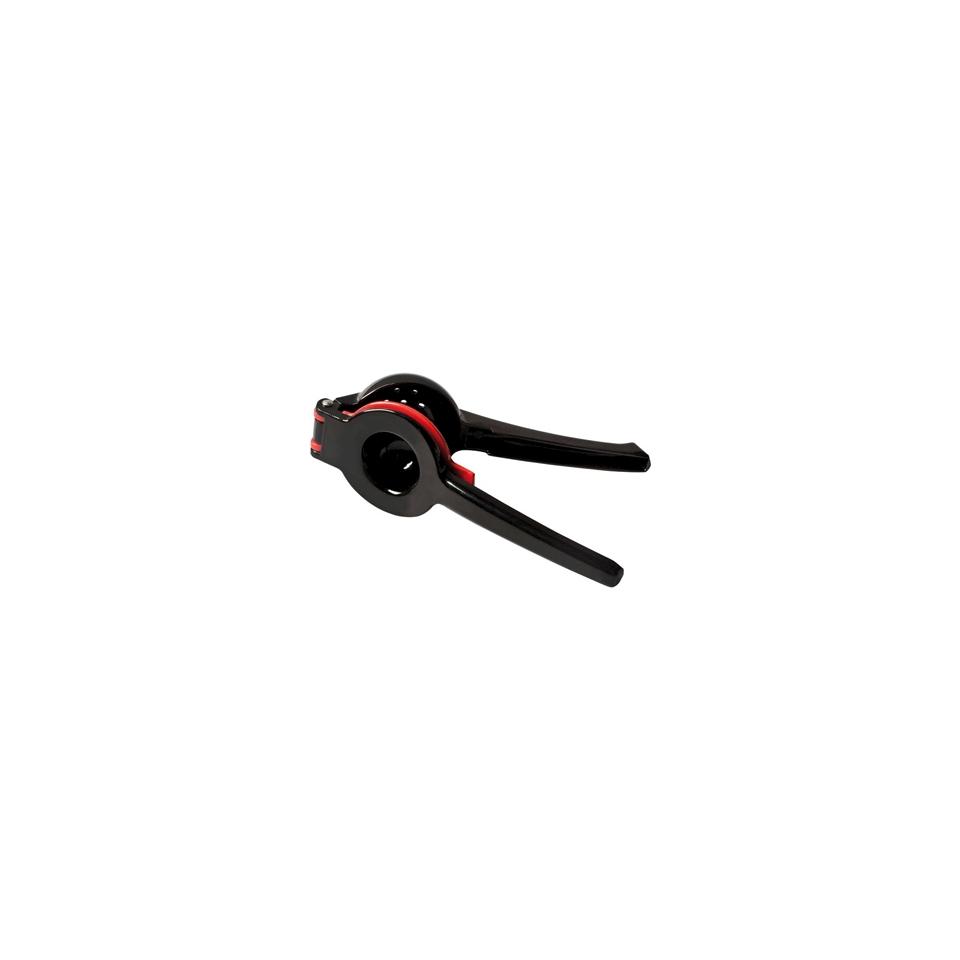 Spremilimone in acciaio nero e rosso cm 22