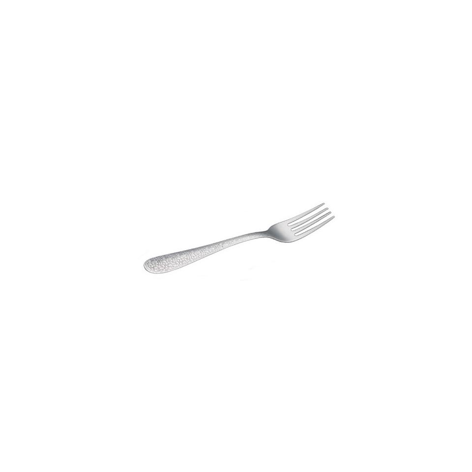 Forchetta Tavola Arabesque in acciaio inox cm 20,4