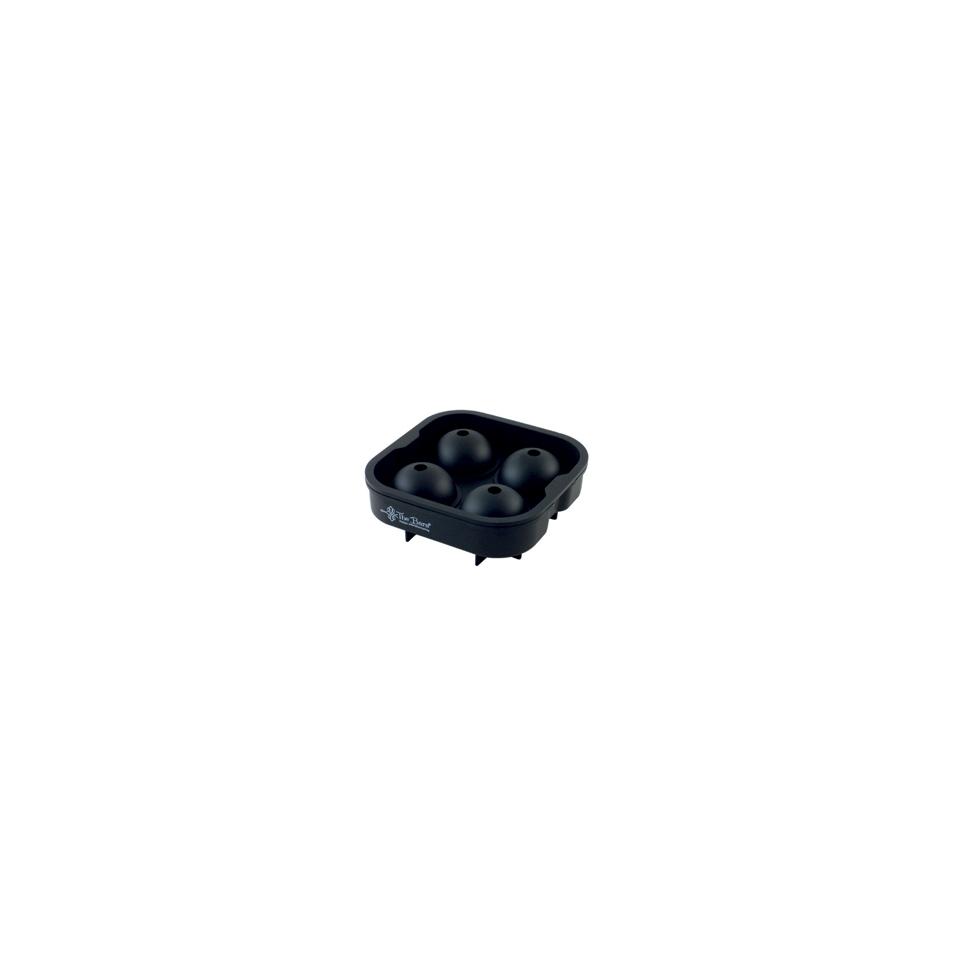 Stampo ghiaccio 4 sfere in silicone nero cm 4,5