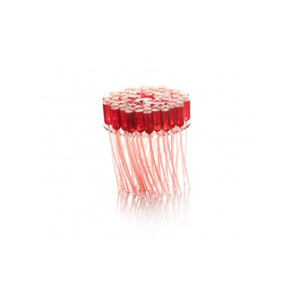 Disco Spider per pipette 100% Chef in metacrilato trasparente cm 13,5