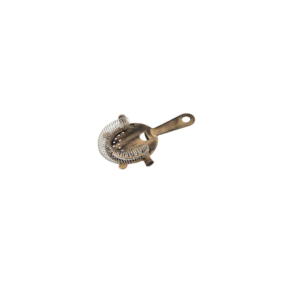 Strainer con alette Copper Vintage in acciaio inox anticato cm 15