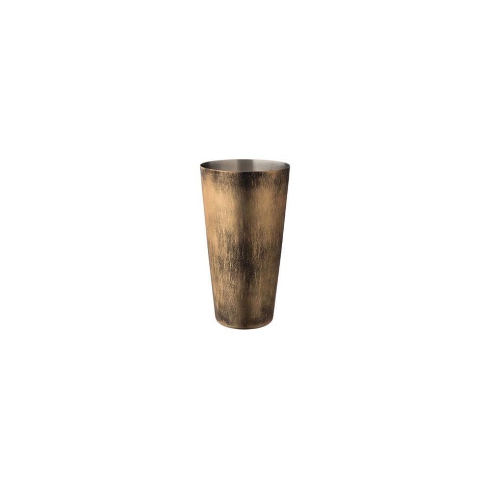 Boston tin bilanciato Copper Vintage in acciaio inox anticato oz 28