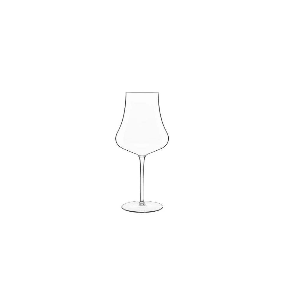 Calice Chardonnay vino bianco linea Tentazioni Luigi Bormioli in vetro cl 47