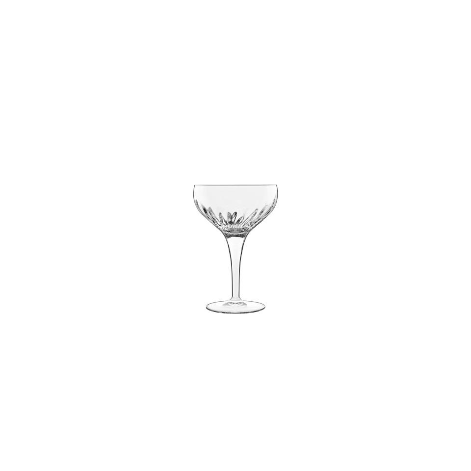 Coppa Champagne Mixology Luigi Bormioli in vetro decorato cl 22,5
