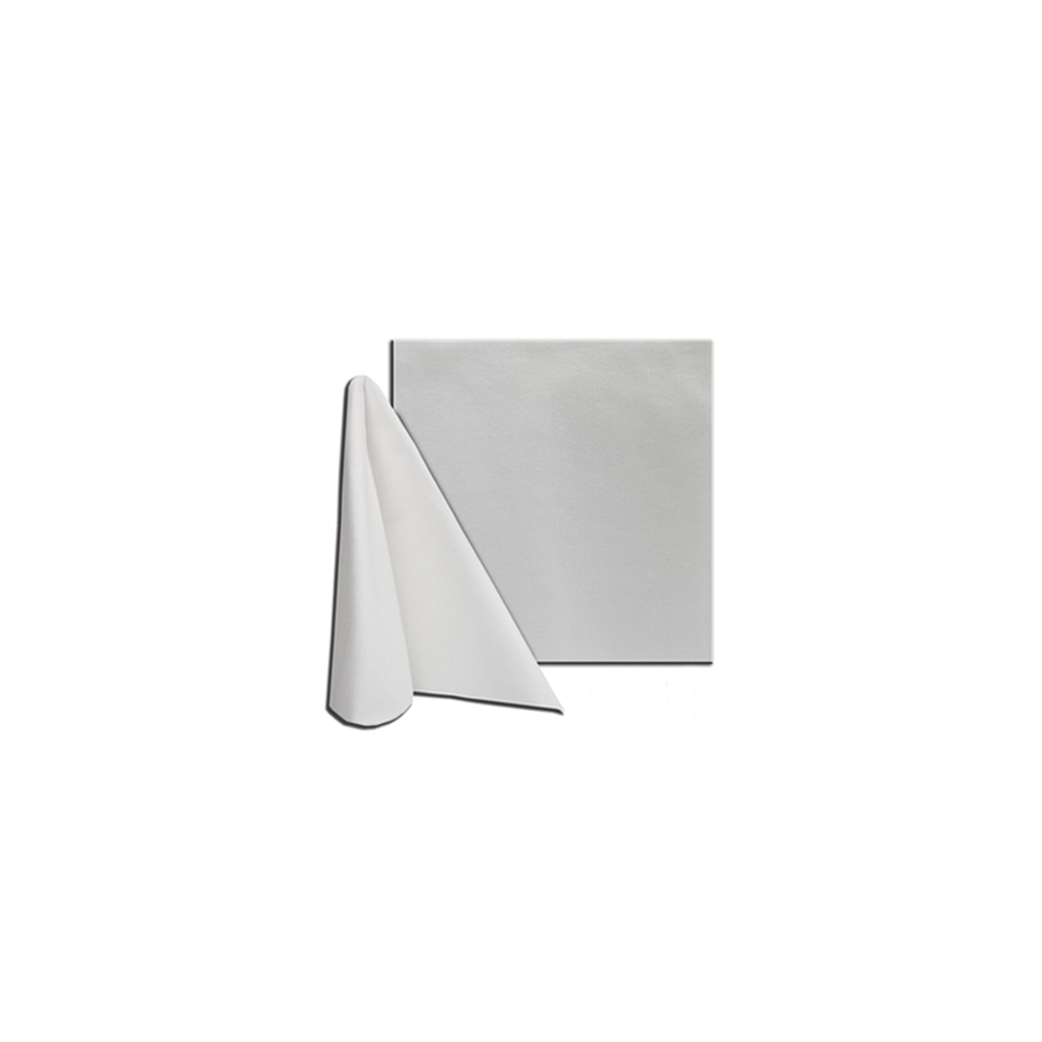 Tovagliolo linea Bianco in cellulosa bianca cm 40x40