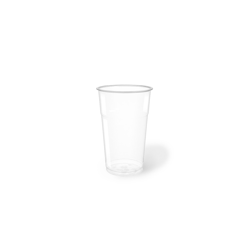 Bicchiere bibita monouso in PET trasparente cl 50