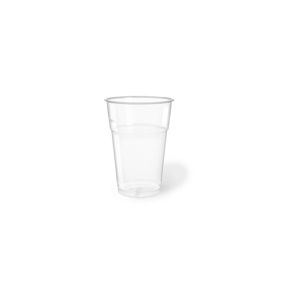 Bicchiere bibita monouso in PET trasparente cl 57,5