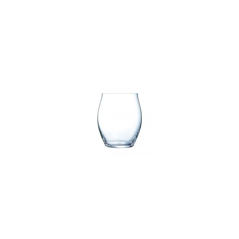 Bicchiere Macaron Fascination in vetro trasparente cl 40