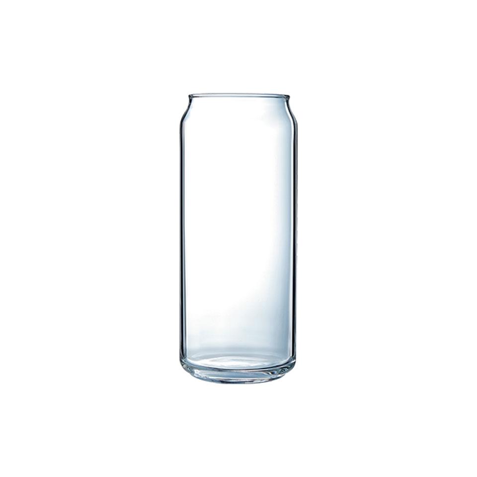 Bicchiere lattina Plain Can Arcoroc in vetro cl 47,5