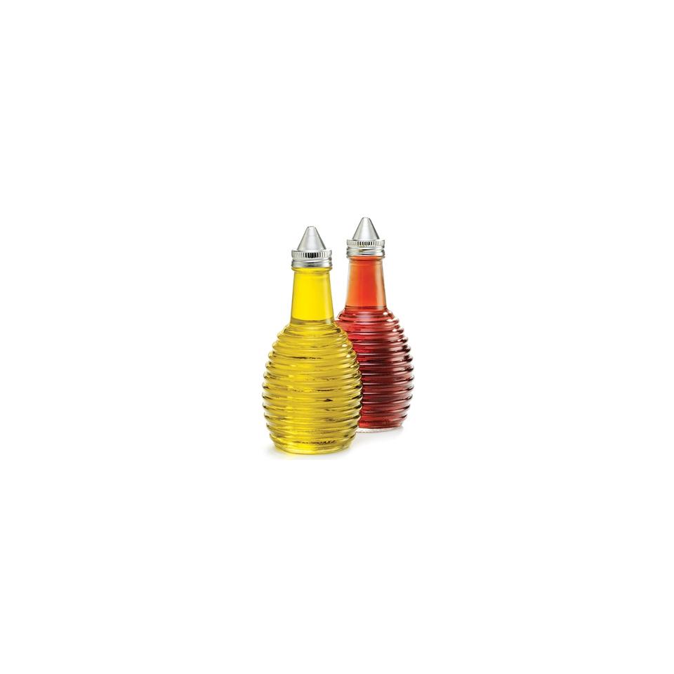 Bottiglietta olio e aceto Beehive in vetro con tappo cl 18