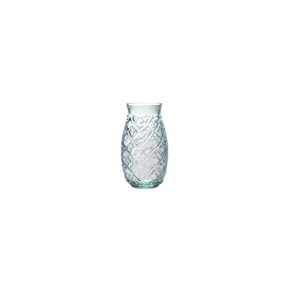Bicchiere Ananas in vetro riciclato cl 53