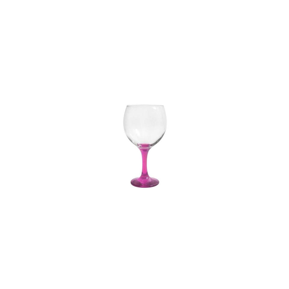 Calice cocktail Combinados in vetro trasparente e viola cl 64,5