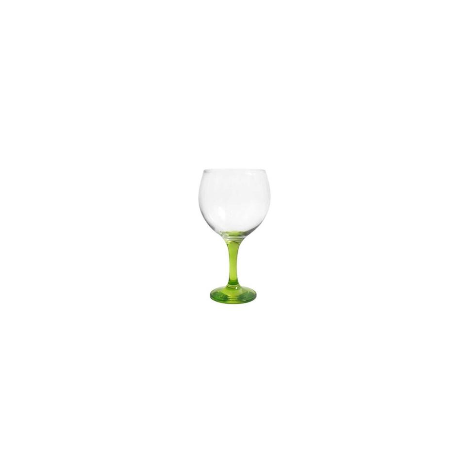 Calice cocktail Combinados in vetro trasparente e verde cl 64,5
