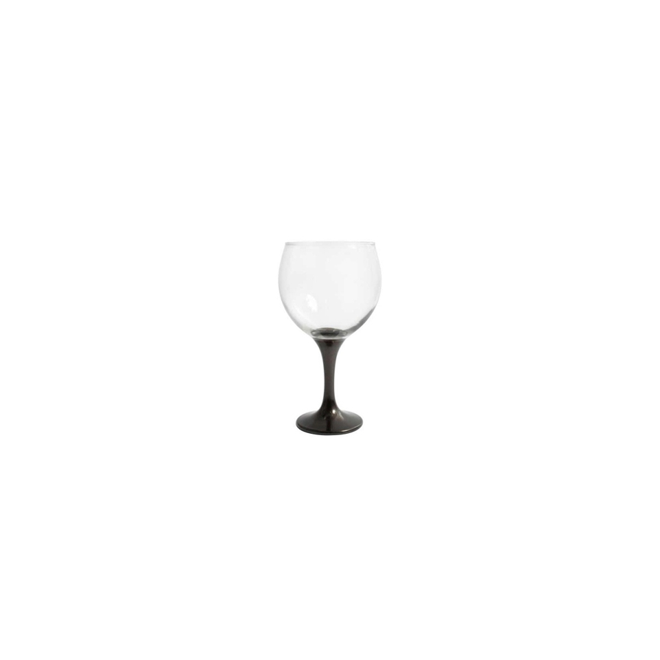 Calice cocktail Combinados in vetro trasparente e nero cl 64,5