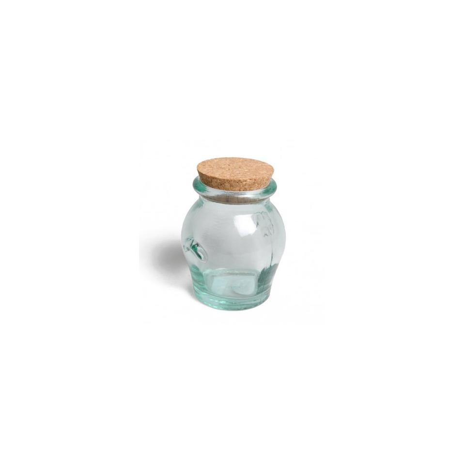 Barattolo Honey In Vetro Riciclato Con Tappo In Sughero gr 550