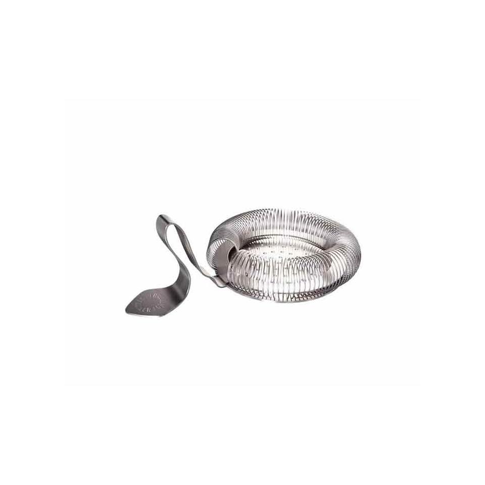 Throwing Strainer con manico curvo in acciaio inox cm 14,2