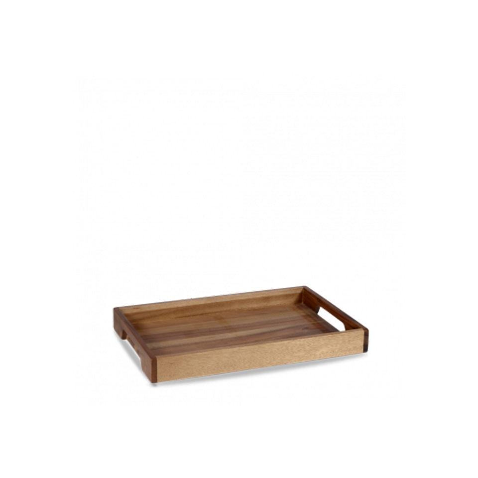 Cassetta rettangolare Buffetscape Churchill in legno di acacia marrone cm 39,7x25,8