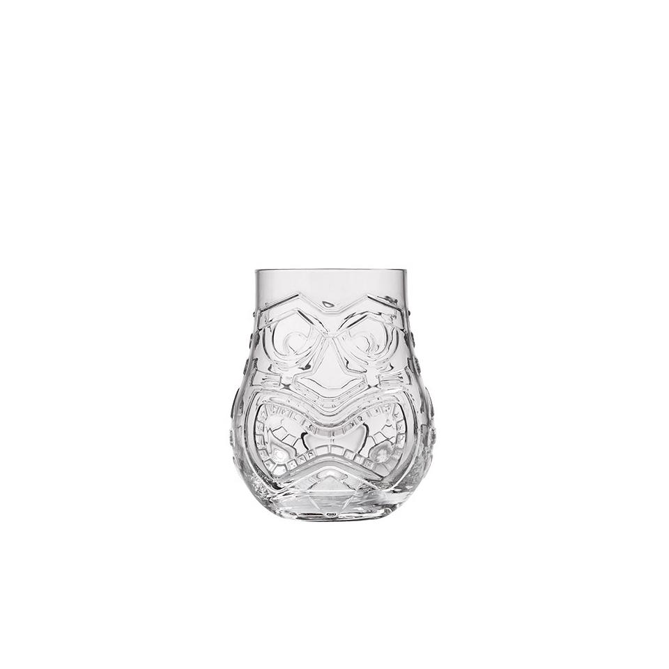 Tiki Mug Split a 2 decori in vetro trasparente cl 47