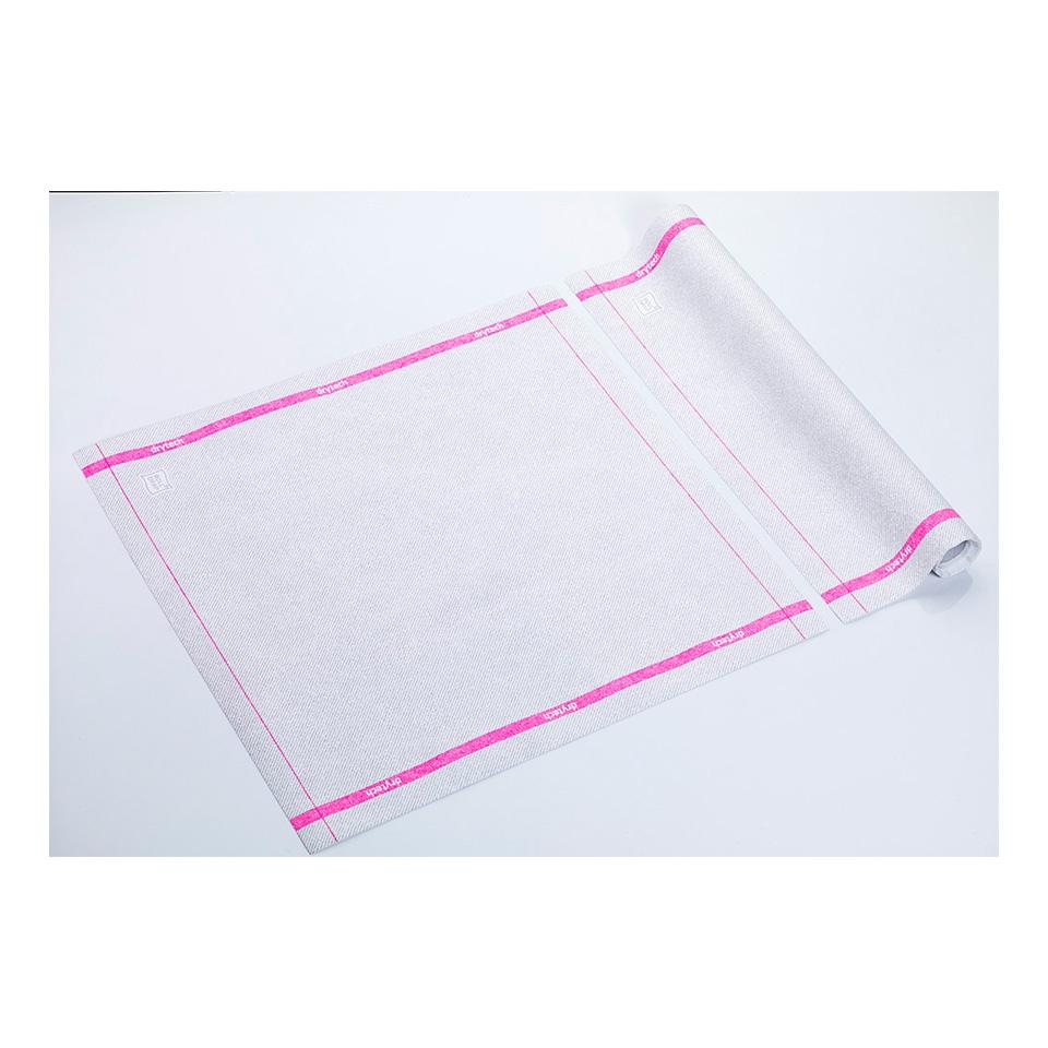 Tovagliolo Roll-Drap in microfibra con bordo colorato cm 40x40