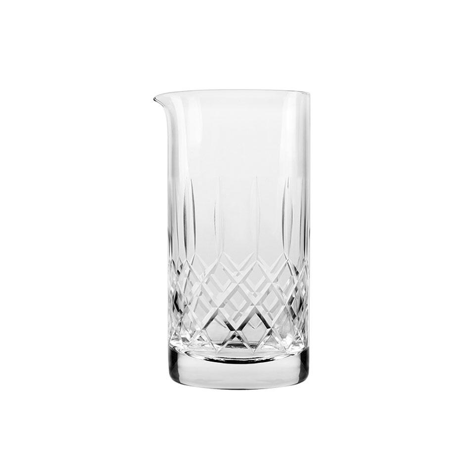 Mixing glass Japan in vetro intagliato cl 75
