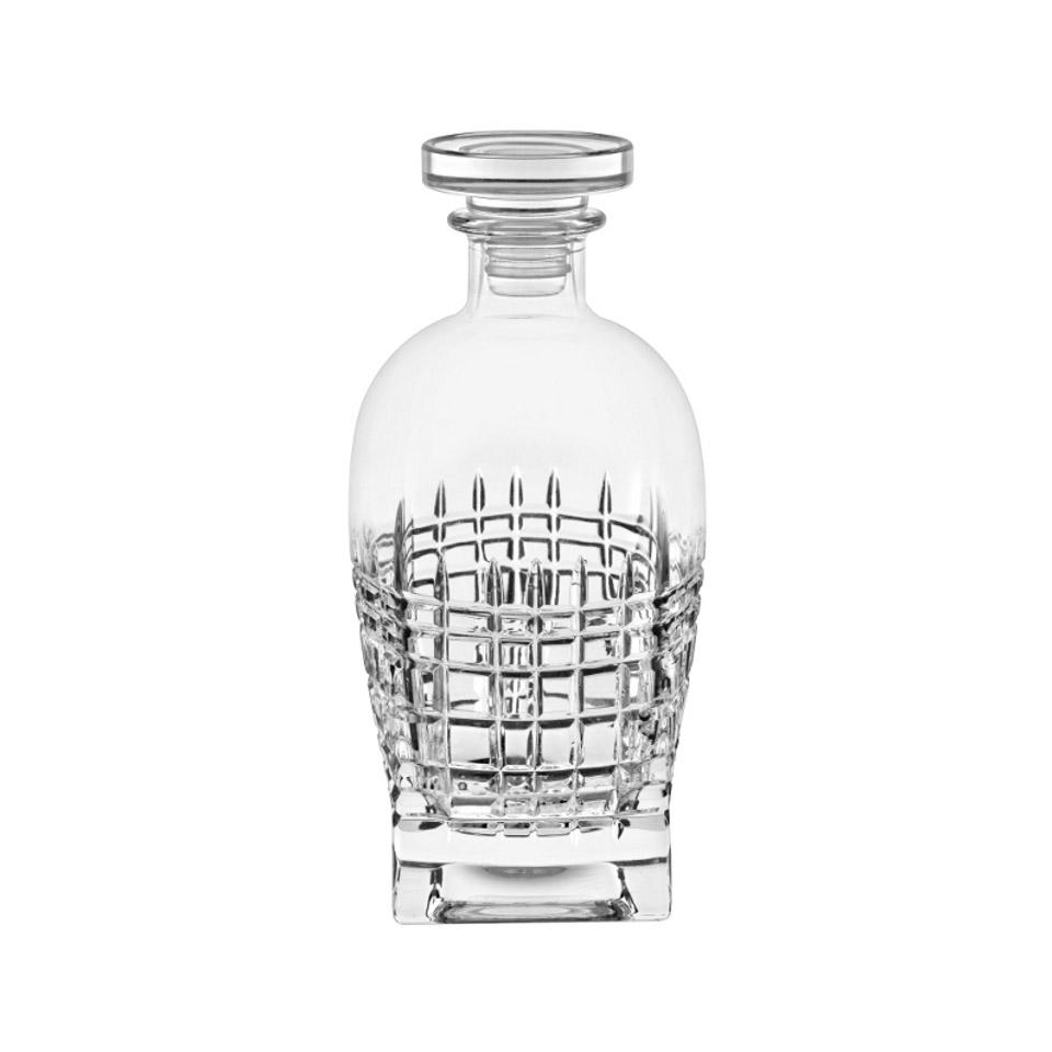 Bottiglia Tartan Vidivi in vetro decorato cl 70
