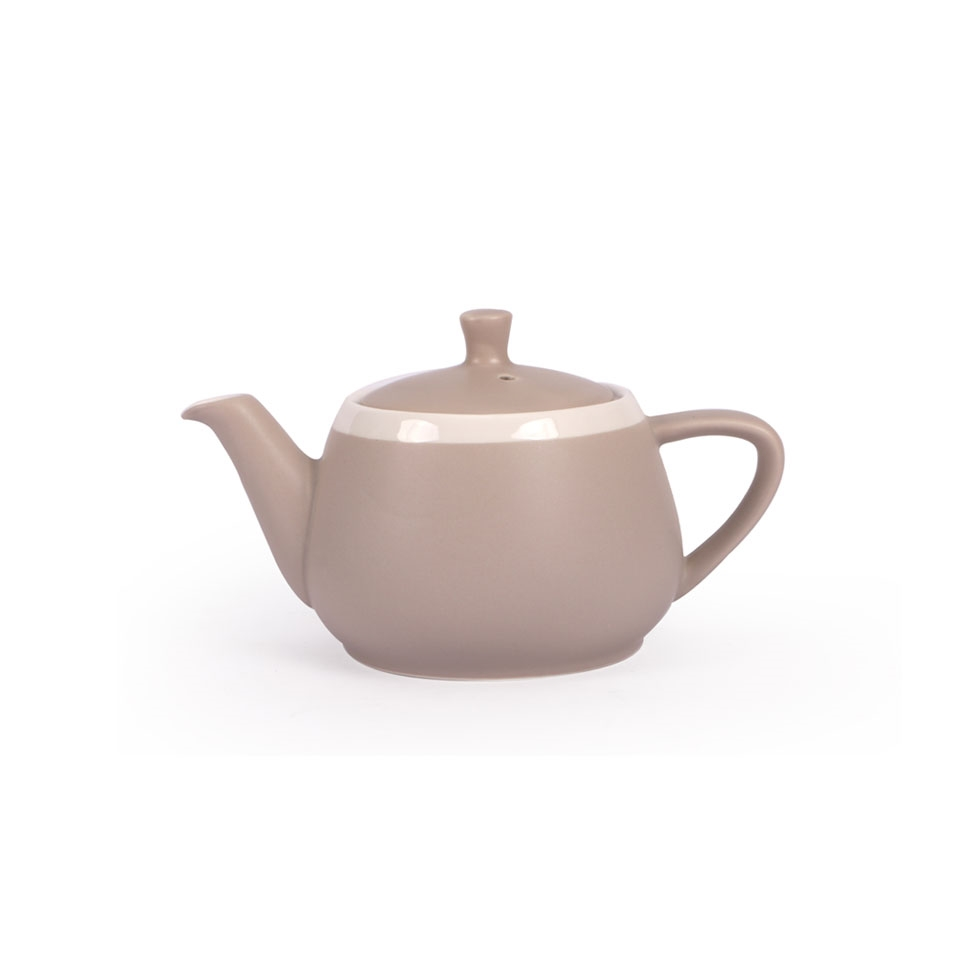 Teiera CoffeeCo in porcellana tortora cl 36
