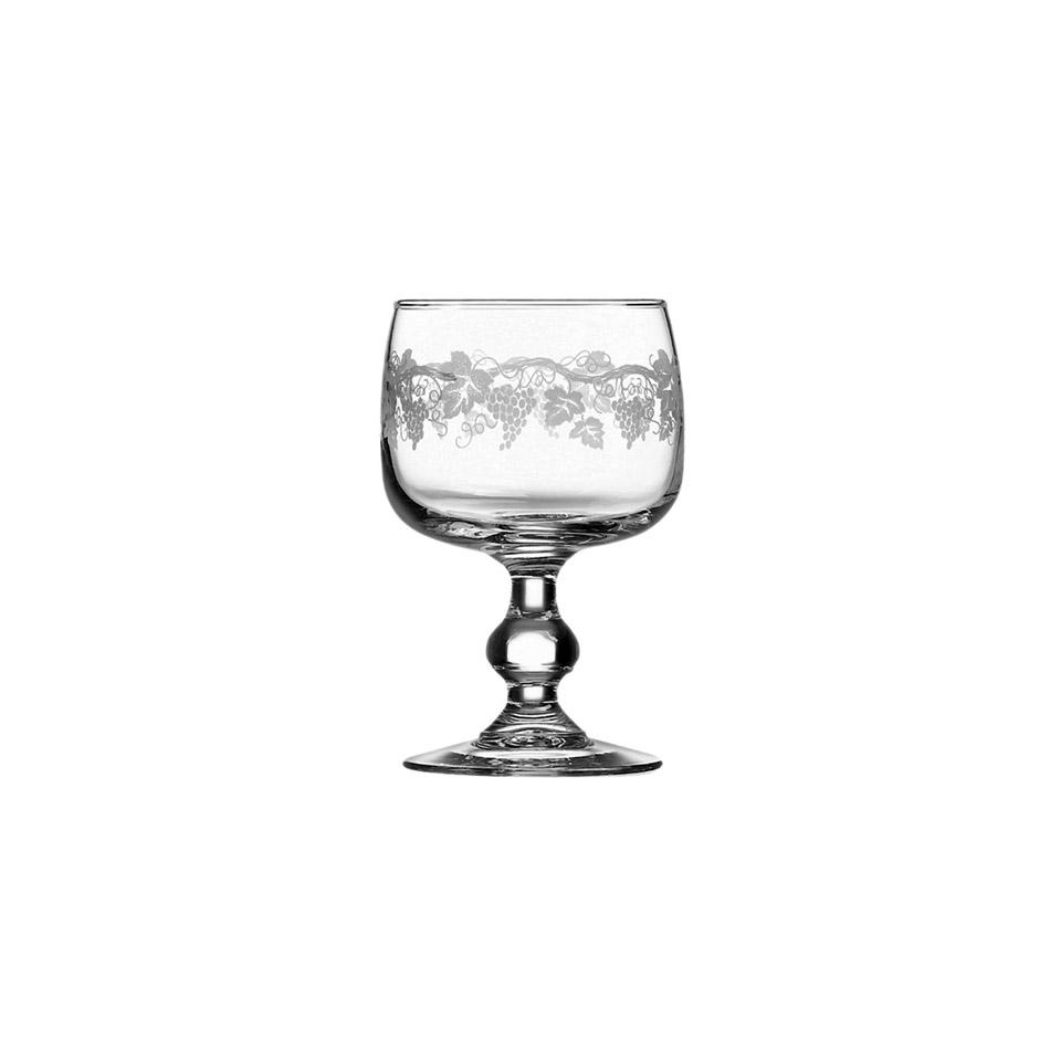 Calice Domaine Sarment con decoro in vetro cl 20