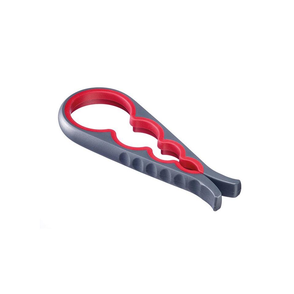 Apricoperchi Moby Dick in plastica e gomma rossa e grigia cm 23