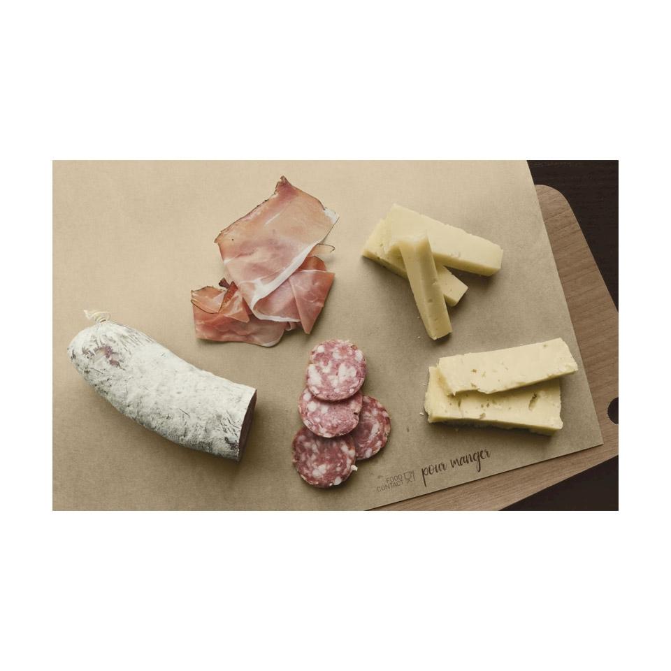 Tovagliette Pour Manger in carta alimentare marrone cm 30x33