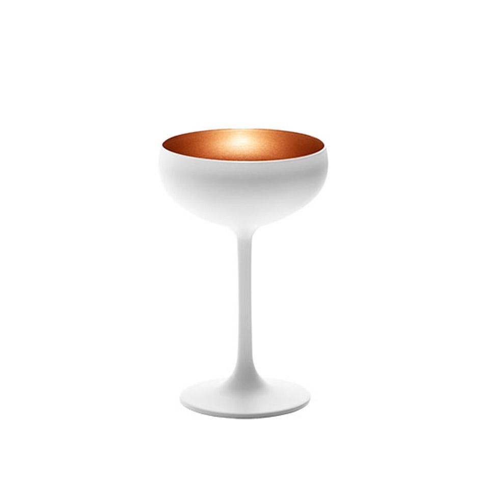 Coppa champagne Olympic Stolzle in vetro bicolore cl 23